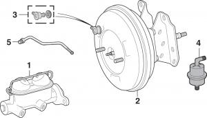Brake Master Cylinder and Components