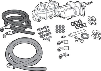 Hydraulic Brake Assist Kit
