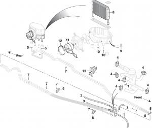 Rear Auxiliary Heater (Floor Mounted)