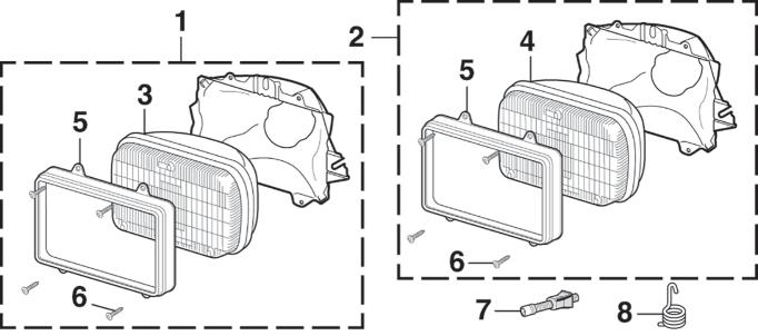 Dual Headlight - Halogen
