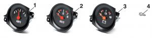 Ammeter/voltmeter Gauge