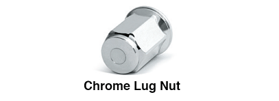 Chrome Lug Nut