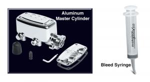 Polished Aluminum Master Cylinder