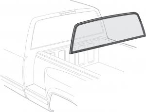 Rear Window - 1-Piece Design