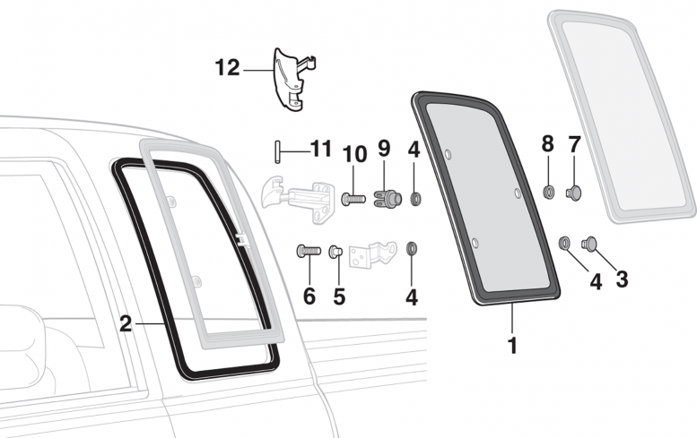 Side Window and Components