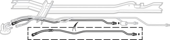 Pre-Bent Fuel Supply Line