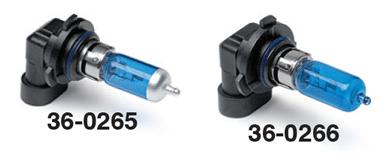 Halogen Blue-Coated Headlight Bulbs