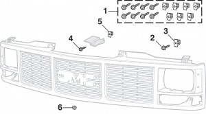 Grille Mounting