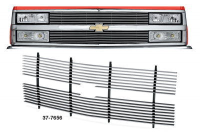 Customize Your Chevrolet Truck with a 4MM Billet Grille
