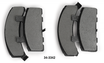 Performance Non-Asbestos Disc Pads Deliver the Performance You Need