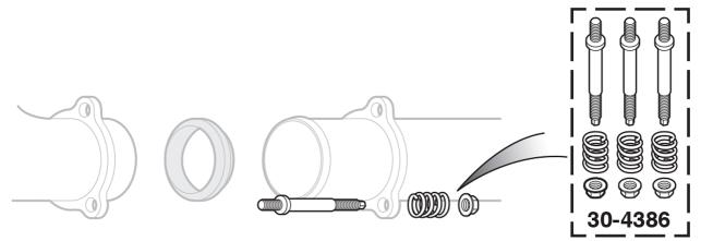 Exhaust Flange Spring Bolt Kit