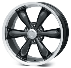 Vision Gloss Black 142 Legend 6 Wheel