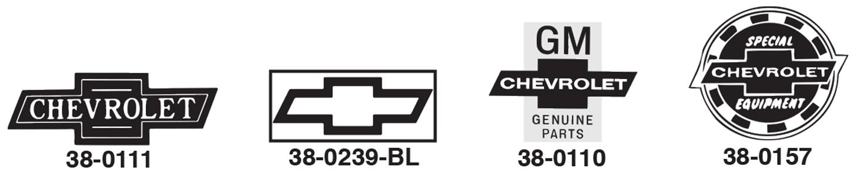 Chevrolet Decals