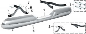 Fleetside Rear Bumper and Components