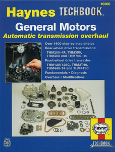 Haynes General Motors Auto Transmission Overhaul Manual