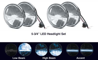 5-3/4 LED Headlights