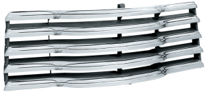 Grille Assembly - Chrome and Black