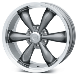 Vision Gun Metal 142 Legend 6 Wheel