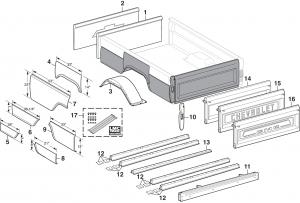 Fleetside Steel Bed Panels