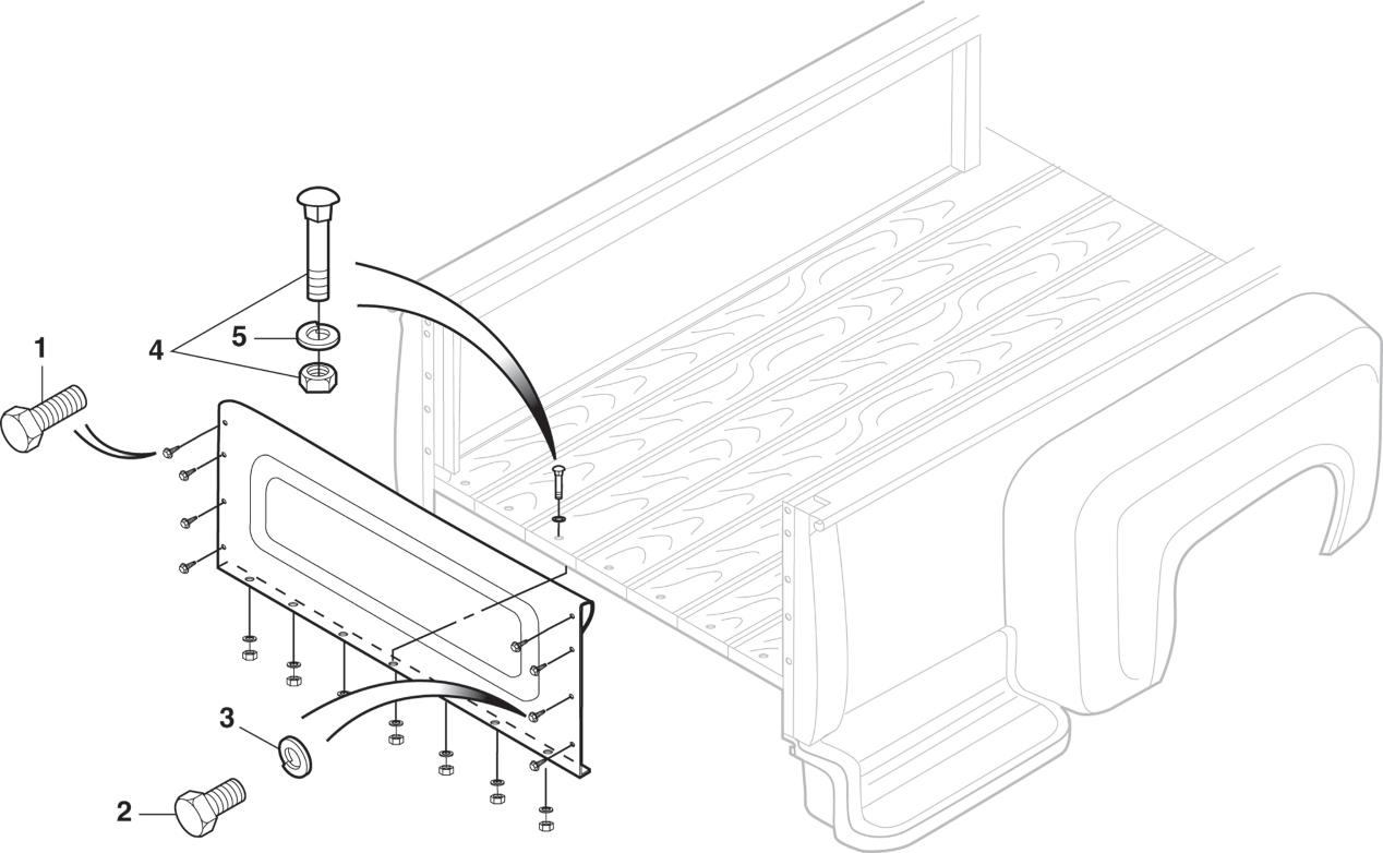 Stepside Front End Panel Attachment