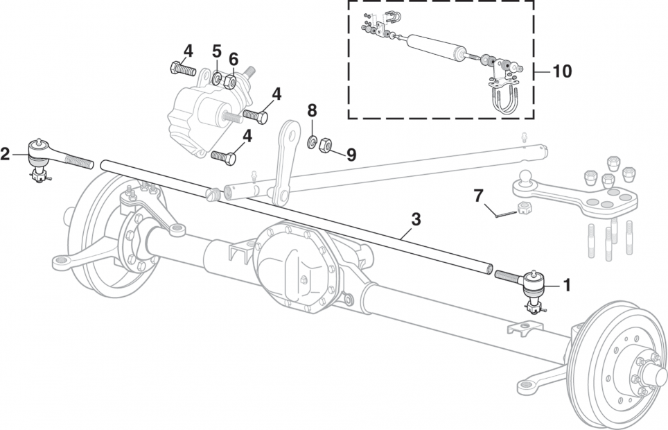Steering Controls - 4WD