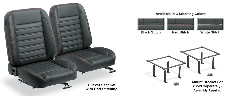 Bucket Seat Set