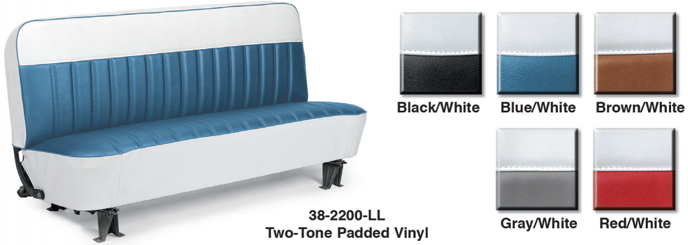 Vinyl Bench Seat Reupholstery Kit ... A Perfect Fit in Your Truck