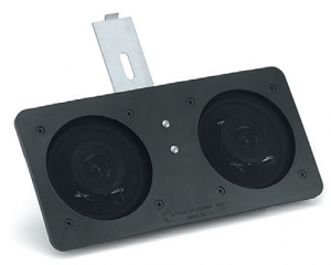 Dual Front Speakers