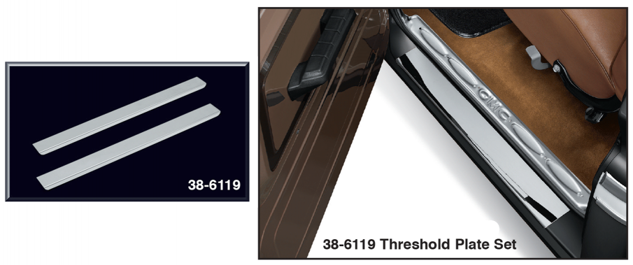 Stainless Steel Threshold Plate Sets
