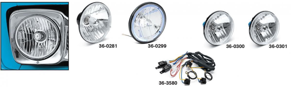 Custom Headlights - Single