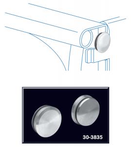 Aluminum Curl Hole Cap Set