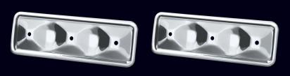 Chrome Engine Sideplate Set