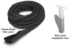 Split Braid Flex Loom and Wire Loom Installation Tool