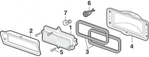 Parklight Components for Chevrolet