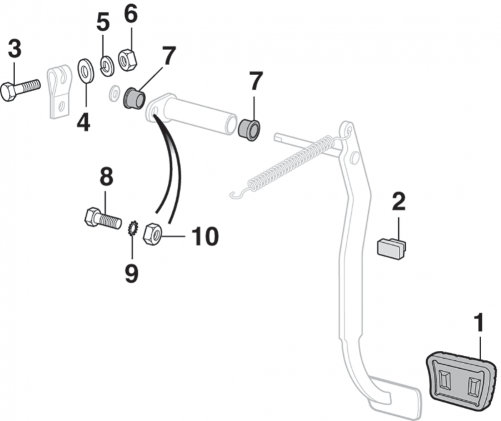 Clutch Pedal Components