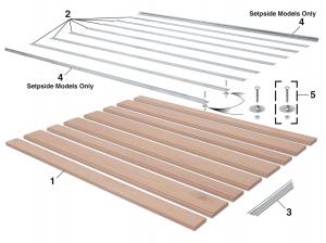 Fleetside Bed Wood Kits