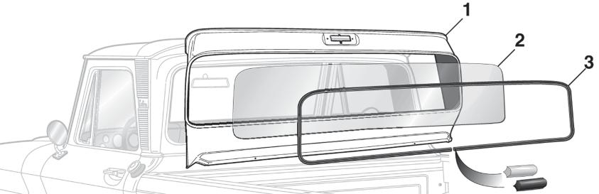 Large Rear Window Conversion Panel
