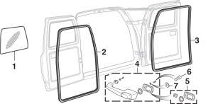 Cargo Door Components