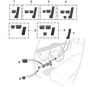 Standard Pedal Pads