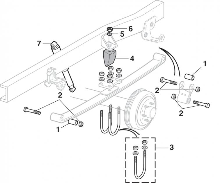 Rear Suspension - 4 Wheel Drive