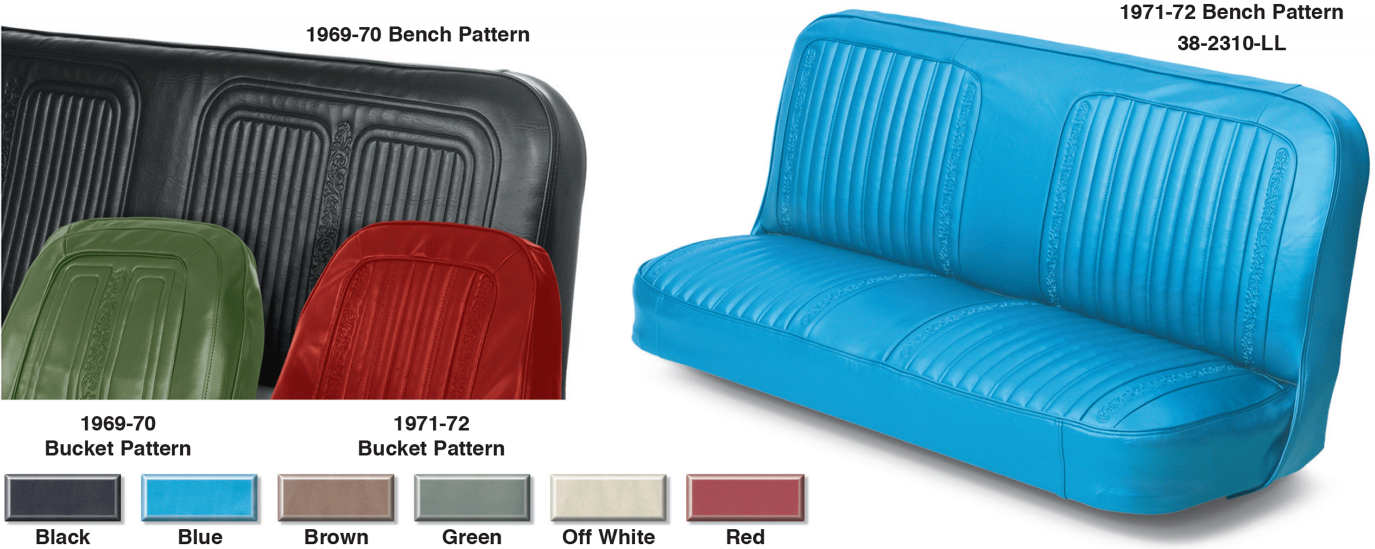 Vinyl Front Seat Reupholstery Kit
