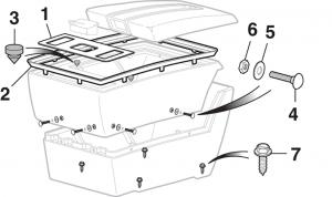 Center Console Components