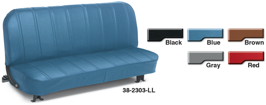 Vinyl Front Bench Reupholstery Seat Kits ... A Perfect Fit in Your Truck