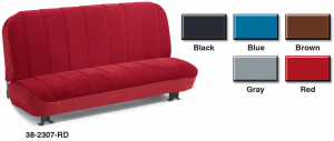 Velour Front Bench Reupholstery Seat Kits for All Weather Comfort and Style