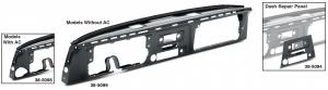 Dash Panel Assembly and Dash Repair Panel