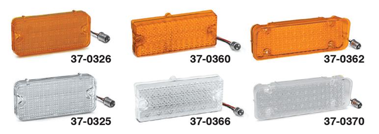 LED Parklight Lenses