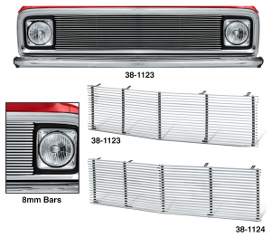 1971-72 Billet Aluminum Grille for Chevrolet