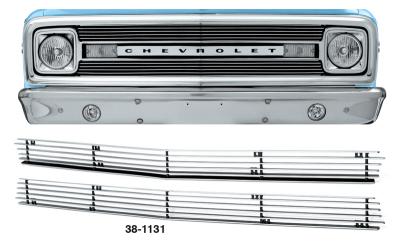 1969-70 4MM Billet Grille Set