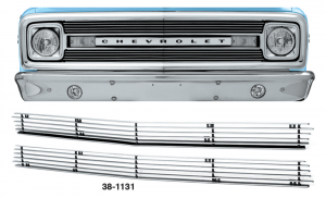 1969-70 4MM Billet Grille Set
