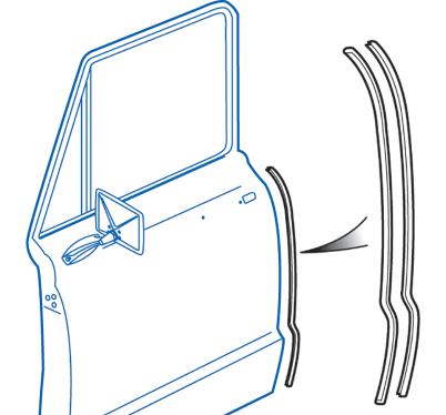 Stainless Steel Door Edge Guard Set Protects Your Doors